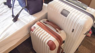 女子旅に使うバッグと小物たち