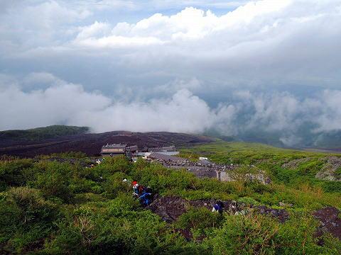 富士山七合目