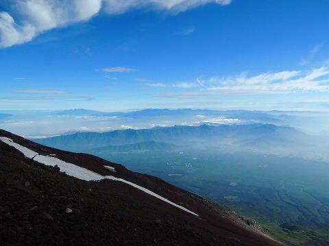 富士山からの眺望