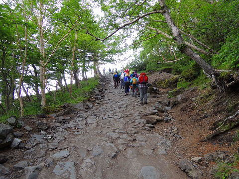 富士山登りはじめ
