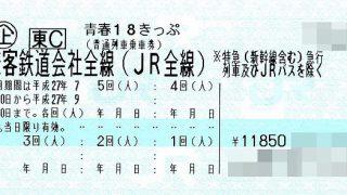 青春18きっぷで行く女子旅