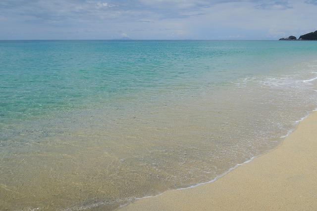 屋久島のビーチ
