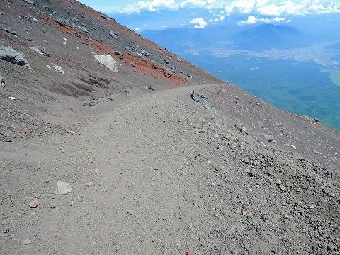 富士山下山路