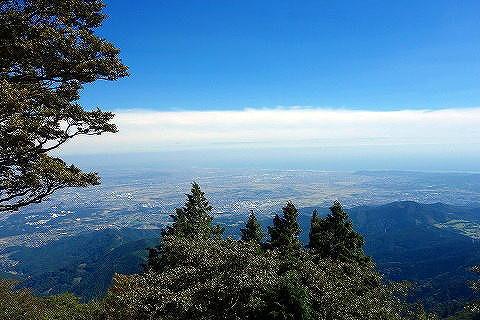 大山からの眺望